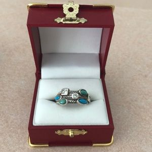 Jewelry - Vintage Native American Turquoise Silver Ring